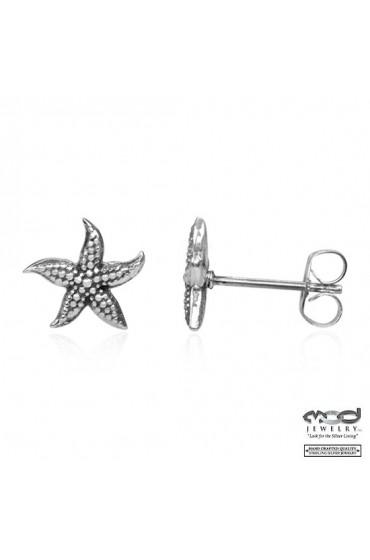 Sea star post earrings
