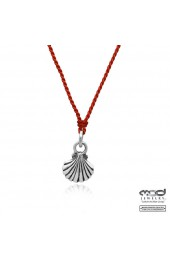 Clam Shell Pendant Necklace