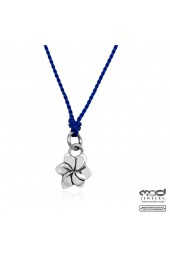 Plumeria pendant necklace