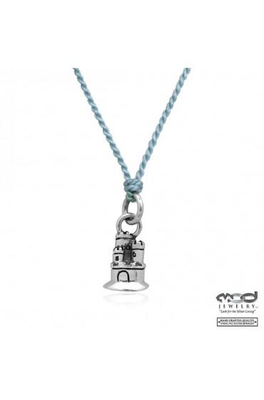 Castle Pendant Necklace
