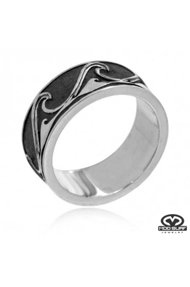 MOD Surf Spinning Wave Ring