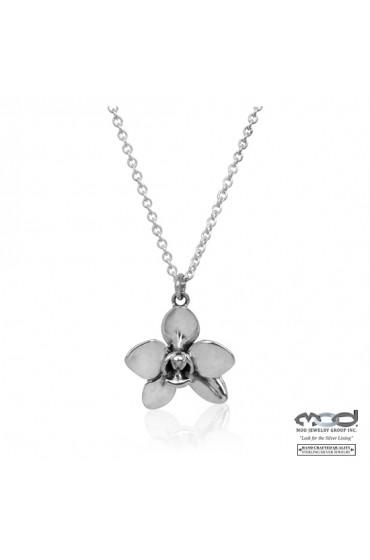 Orchid Flora Necklace